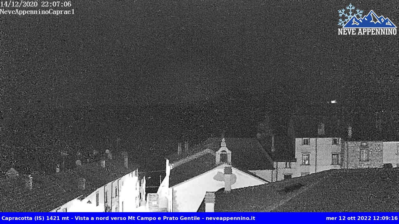 Webcam dal centro storico Chiesa Madre e Monte Capraro