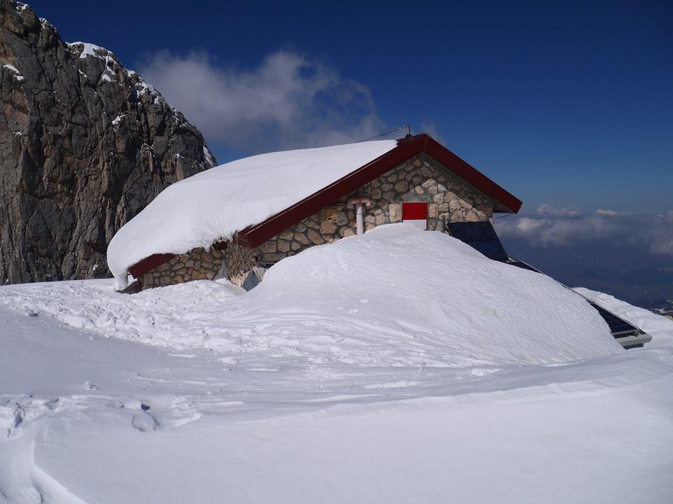 temperature molto elevate in quota, +6°C al Rifugio Franchetti
