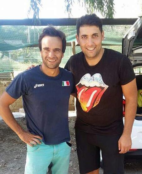 Daniele Nardi e Daniele Prosperi in foto assieme