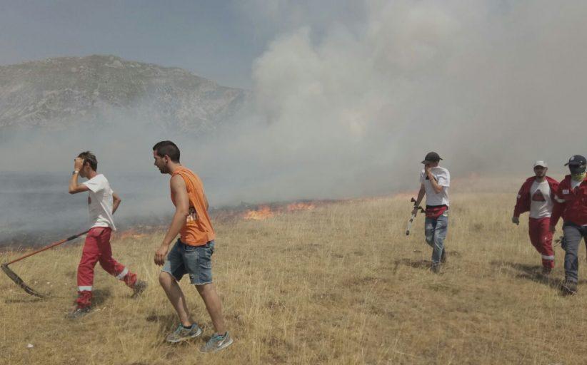 incendio Campo Imperatore