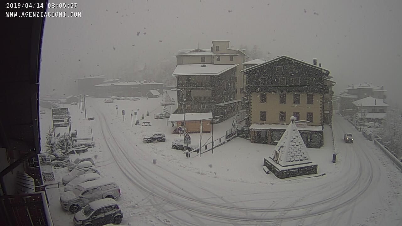 Appennino Nevica Sull Abetone In Giornata Quota Neve In Calo Sull Appennino Centrale