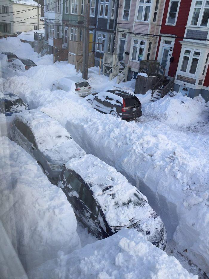Canada tempesta di neve