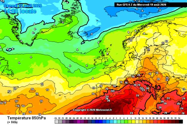 Le alte temperature che verranno causate grazie alla nuova ondata di caldo Africano