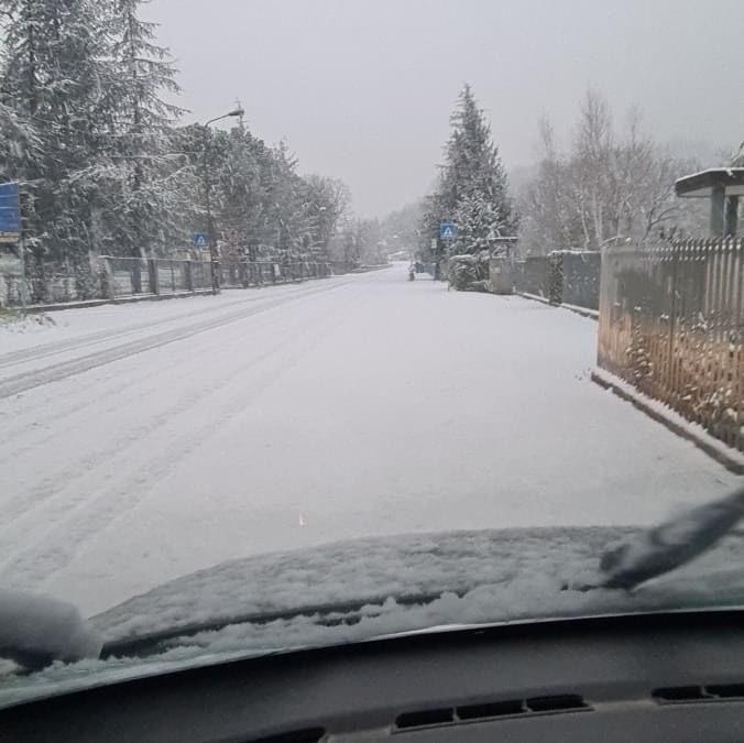 Forti nevicate in corso tra Sarsina e Verghereto
